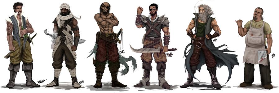 Pirate crew concept by mario reg d354c48