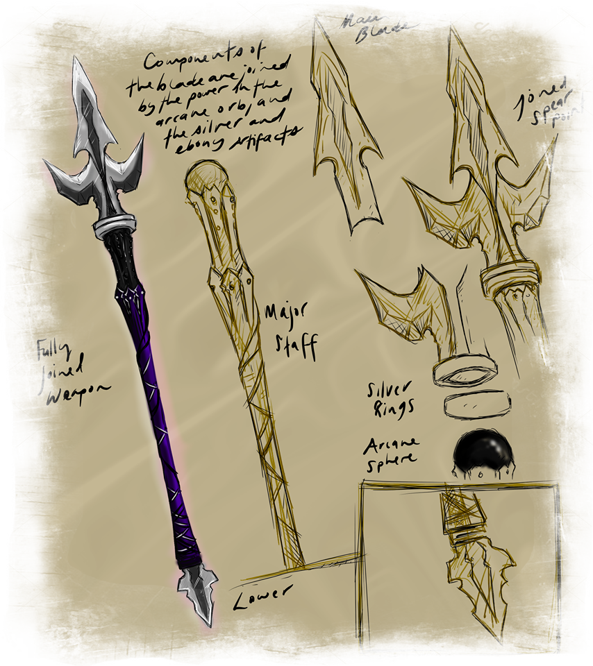 Shadow Fury - The Spear of Power