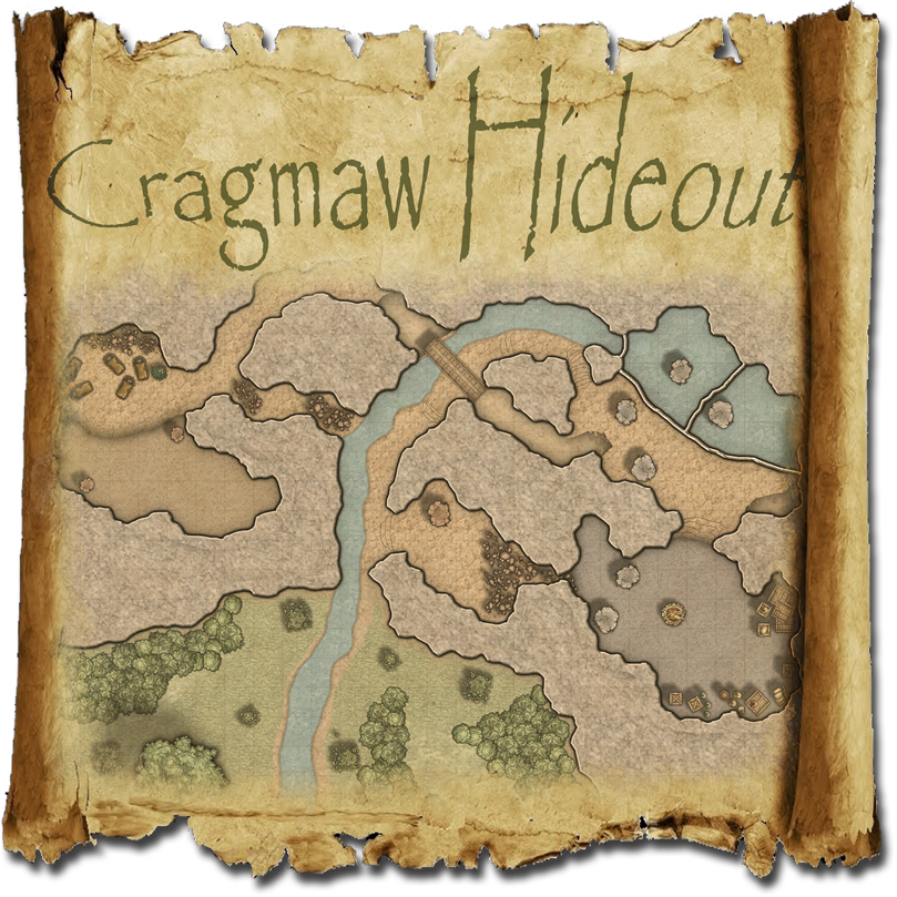 Cragmaw Hideout Map