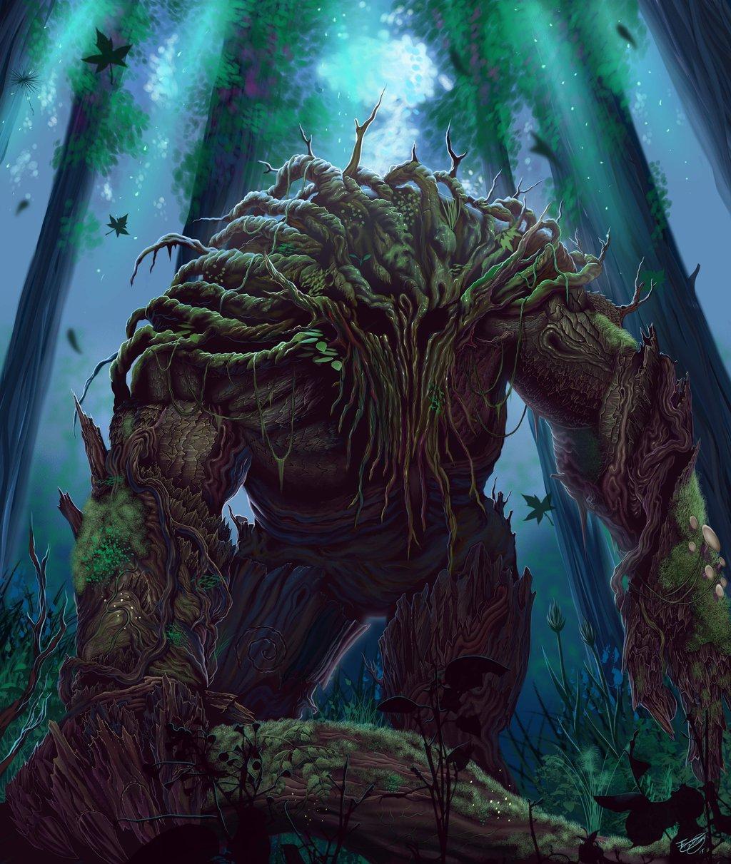 Forest Beast Fantasy Art