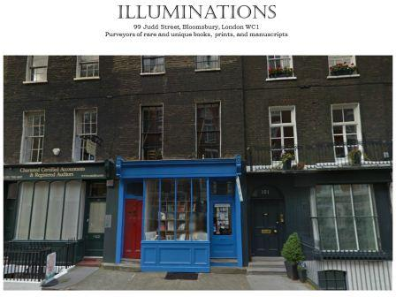 Illuminations bookstore