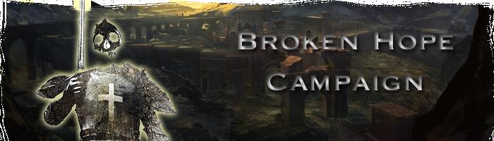 Broken hope banner