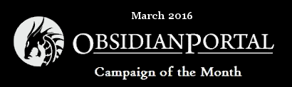 Campaign of the Month March 2016