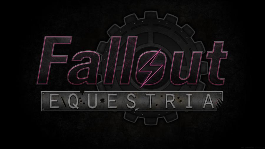 Fallout  equestria logo wallpaper by lightning5trike d50q3du