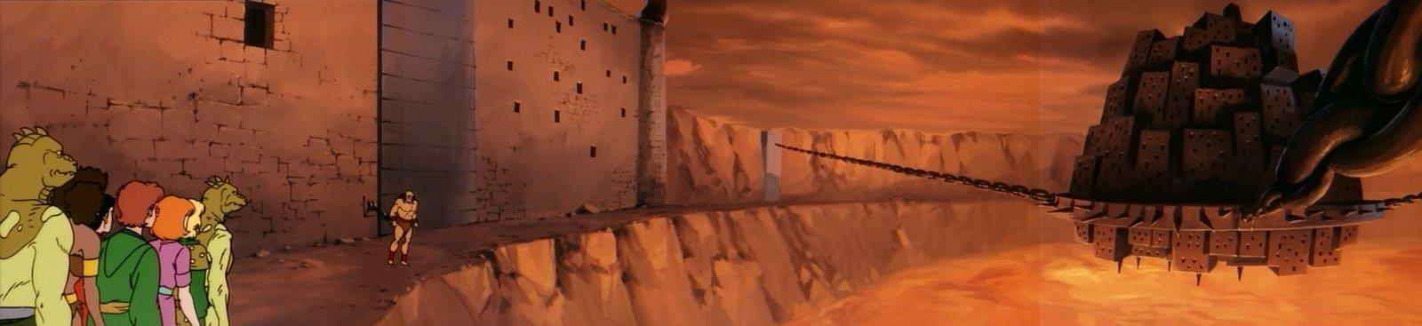 Agony prison panorama