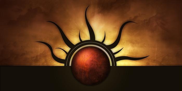 Dark sun banner