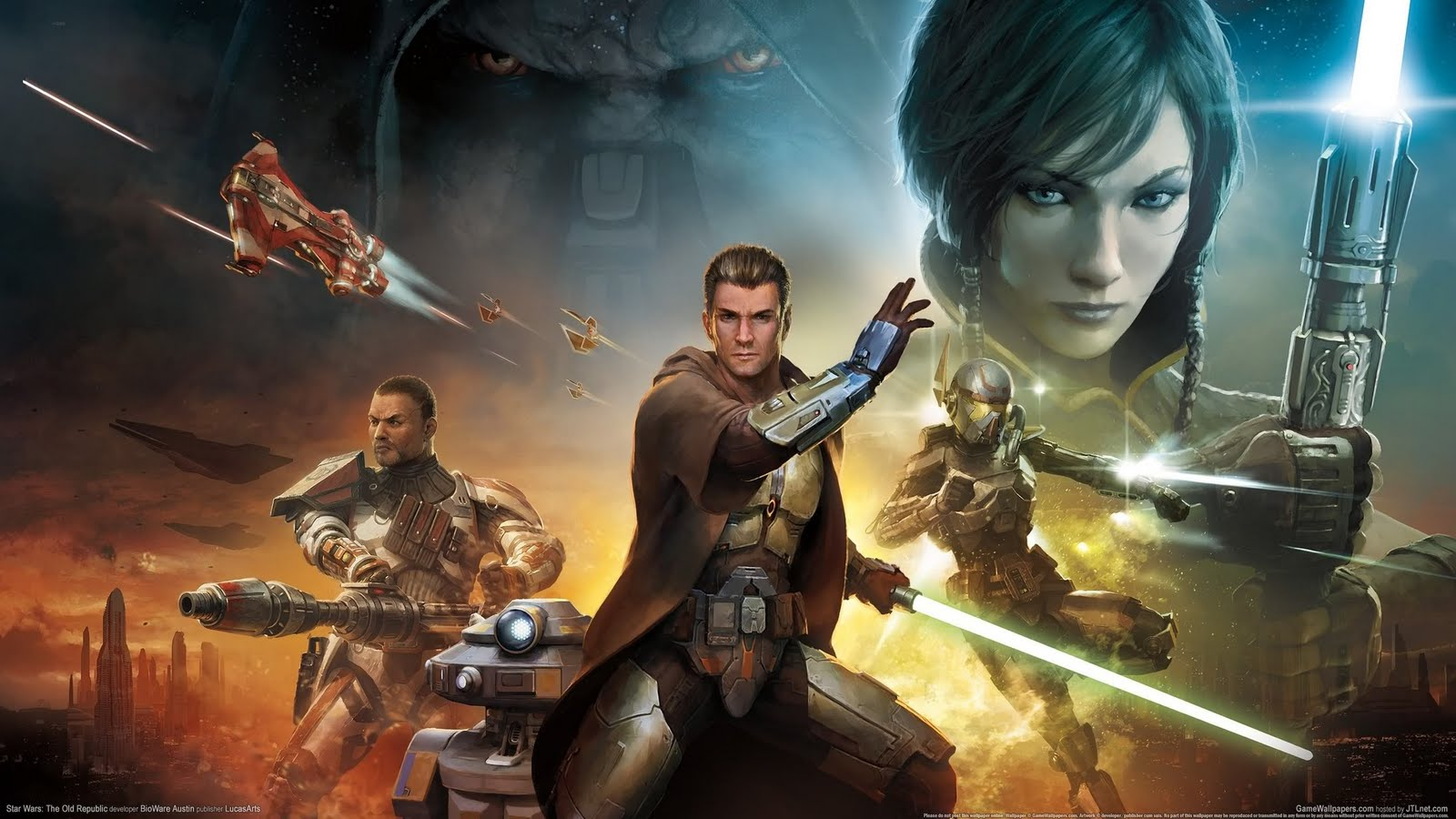 Wallpaper star wars the old republic 04 2560x1440