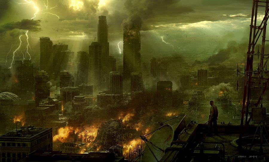 City burn