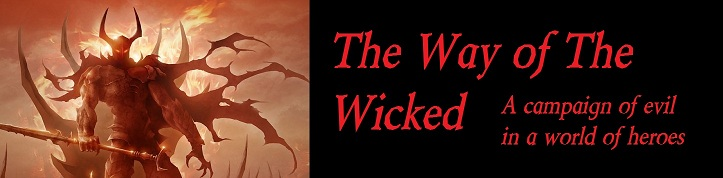 Way of the wicked banner 2