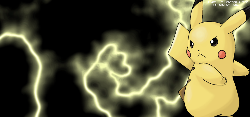 Pikachu banner by i pokemon