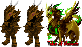 The Talon of Nemesis and Nemesis Armors