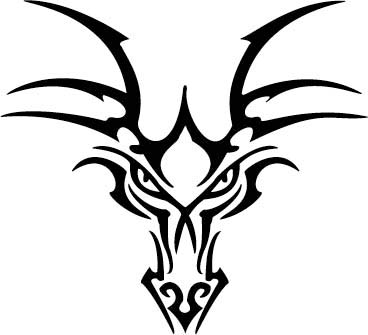Dragonhead decal