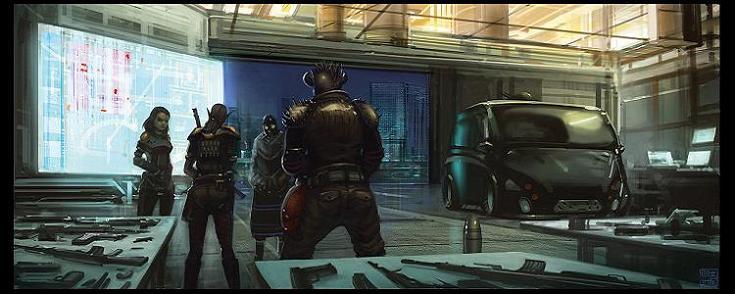 Shadowrun   gearing up by hideyoshi3