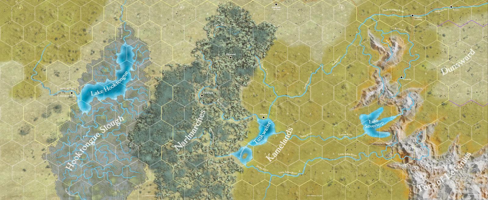Kingmaker map