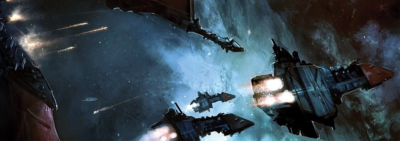 Imperial space battle cropped banner size