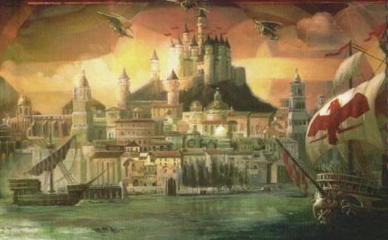 Waterdeep city
