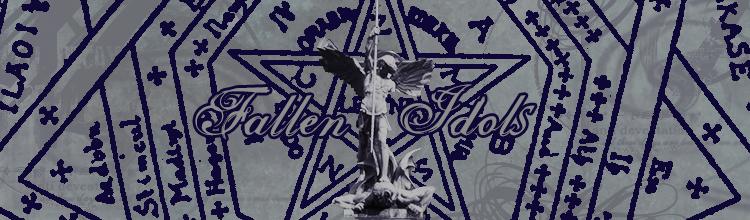 Fallen idols banner