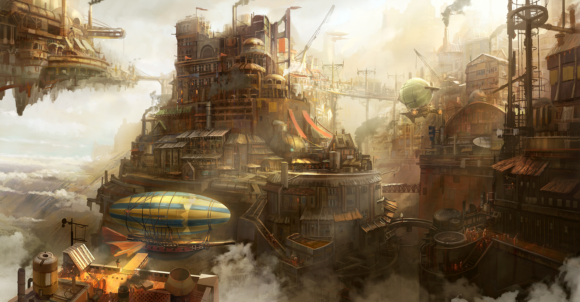 Steampunk concept by tyleredlinart d7czbvr