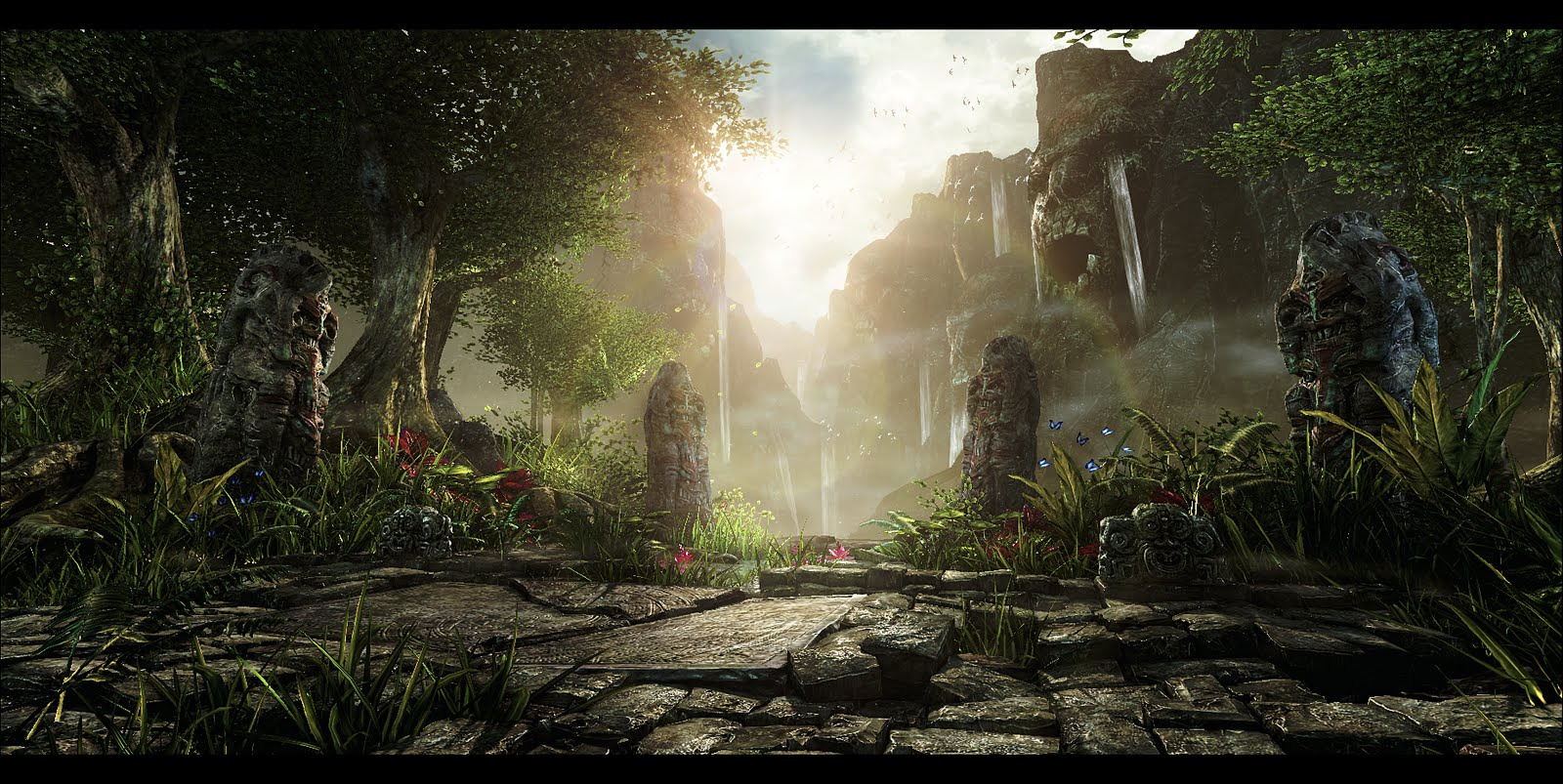 1600x803_20949_Forsaken_Jungle_3d_fantasy_jungle_forsaken_picture_image_digital_art.jpg