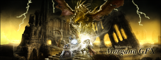 Dragon banner by morganagfx d3cwr8n2