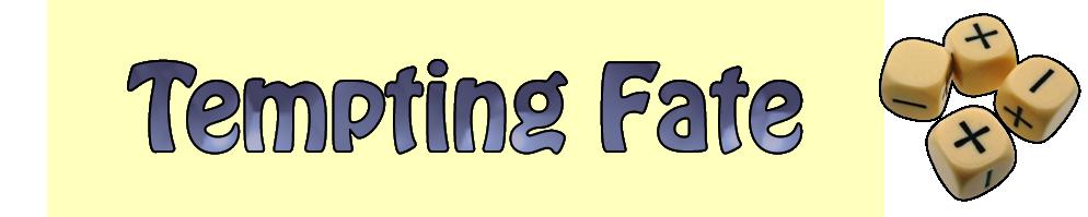 Tempting fate logo