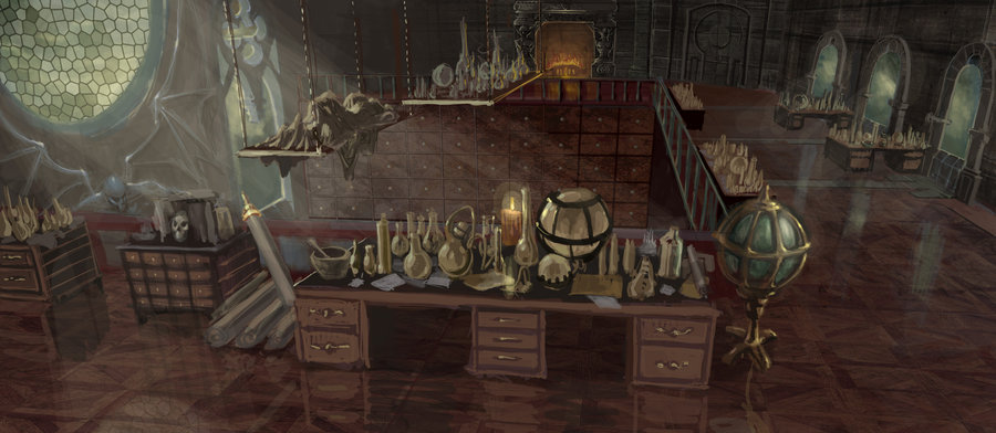 Wizard  s apothecary by rusty001 d2ycsao