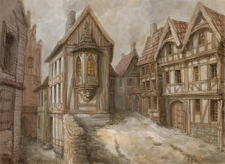 Medieval town 2 by hetman80 d4b70yb