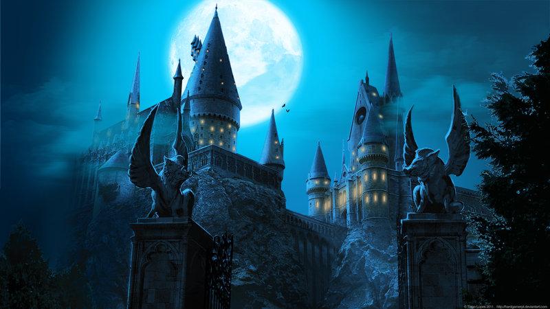 Hogwarts castle wallpaper by hardgamerpt d3gt1em
