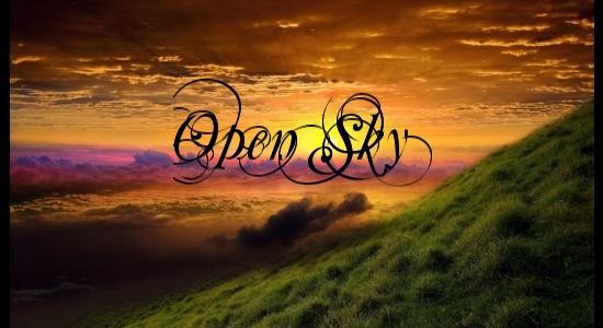 Open sky banner