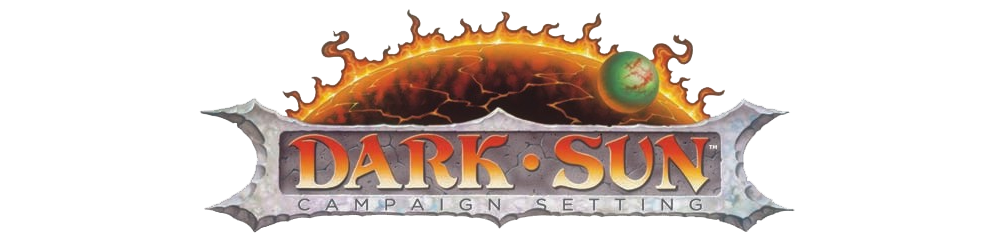 Dark sun logo long