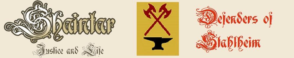 Shaintar j l dos crest banner