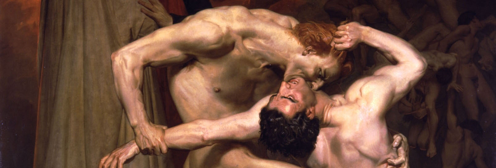 William adolphe bouguereau  1825 1905    dante and virgil in hell  1850  banner