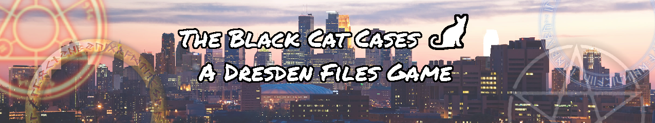 Dresden files twin cities with cat