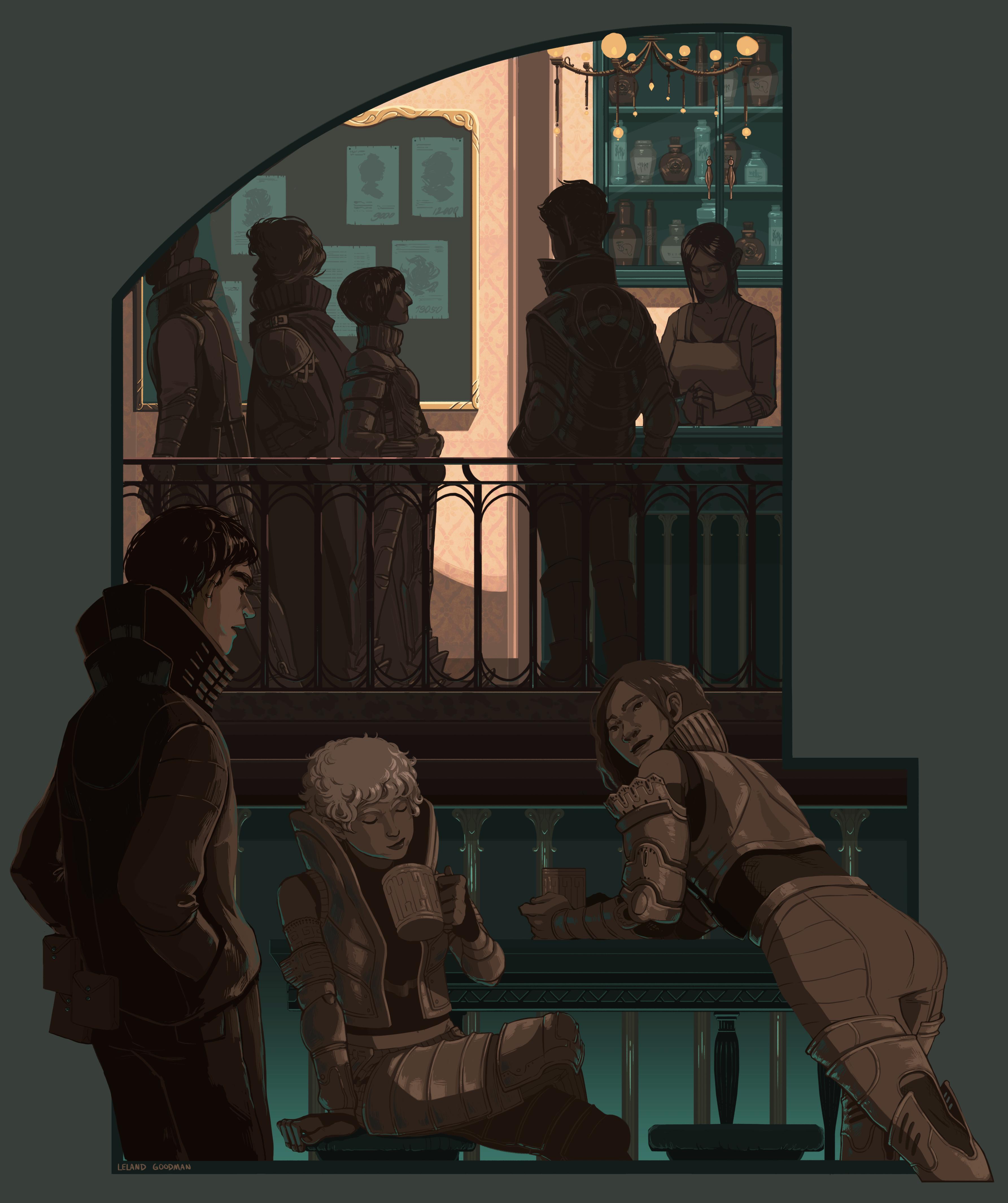 High class tavern