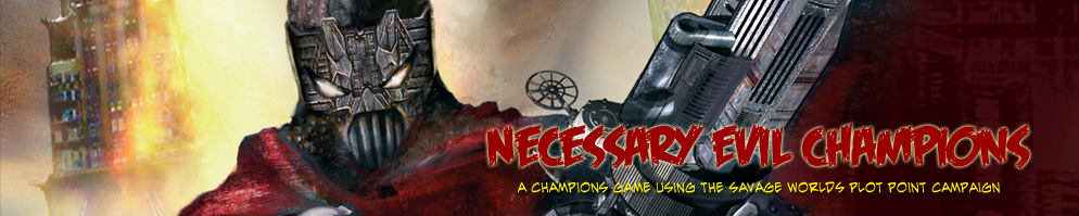 Necessary evil banner