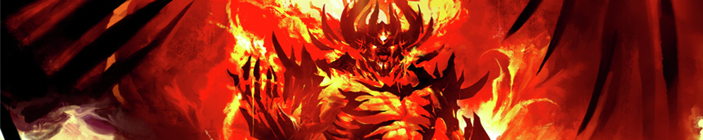 Fire elemental   deamon banner