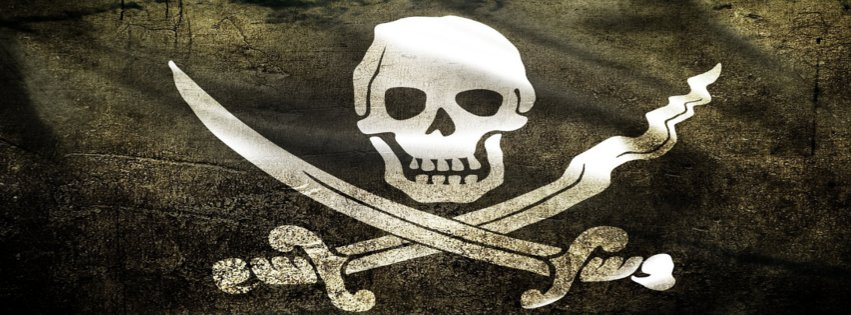 Pirate flag fb cover