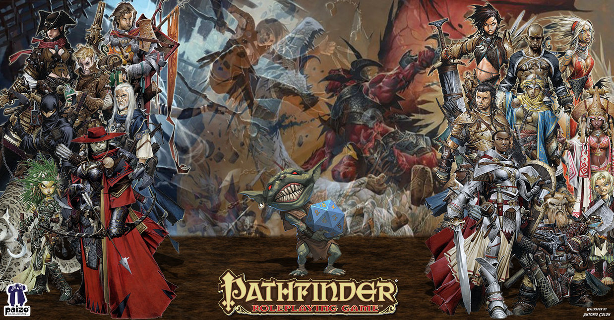 Paizo s pathfinder wallpaper by antoniocolon d6blzz4