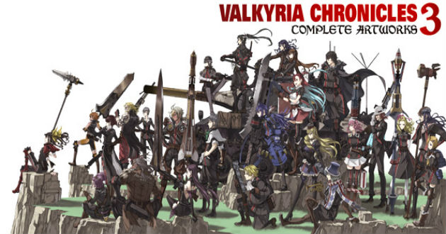 Valkyria chronicles 3 complete artworks