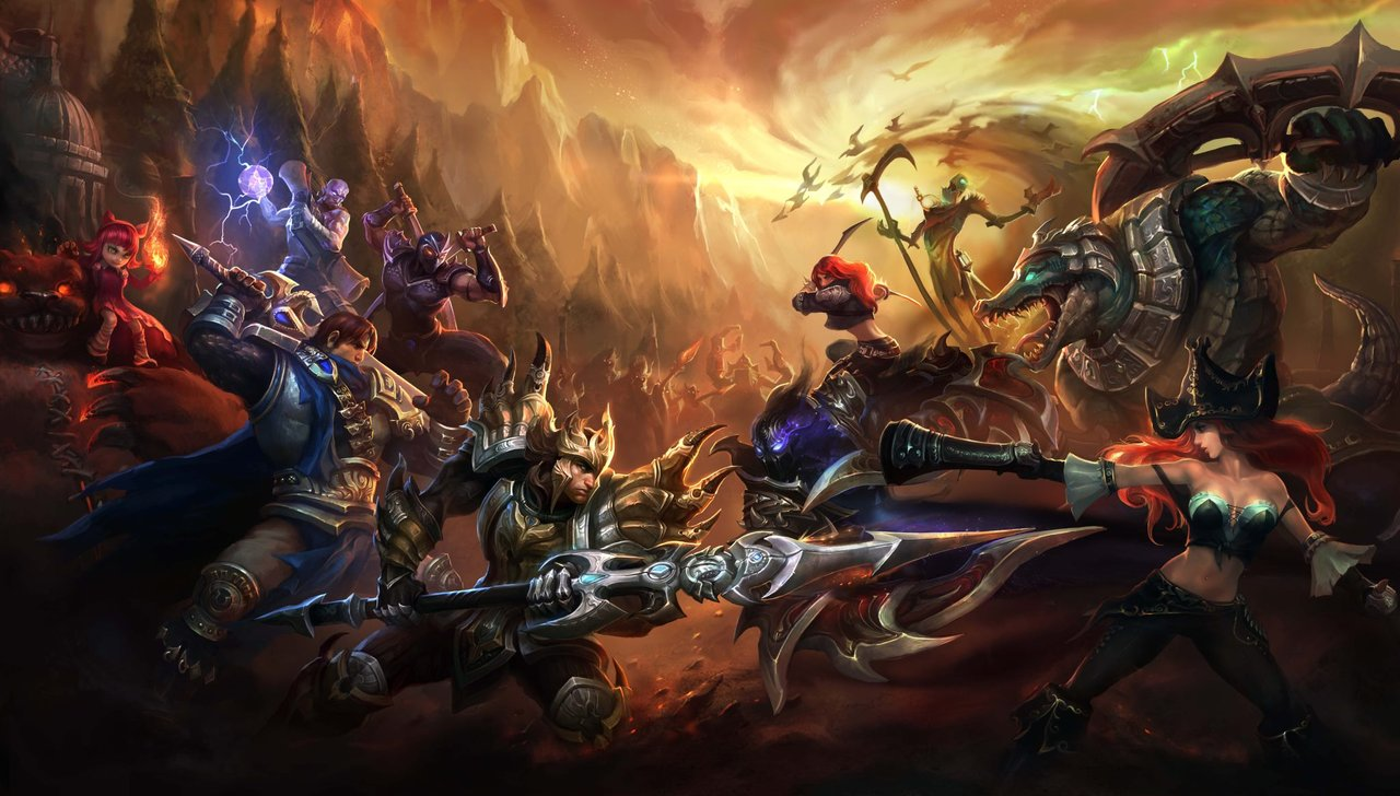 League of legends wallpaper  full hd  by arlen10 d5bfsb1