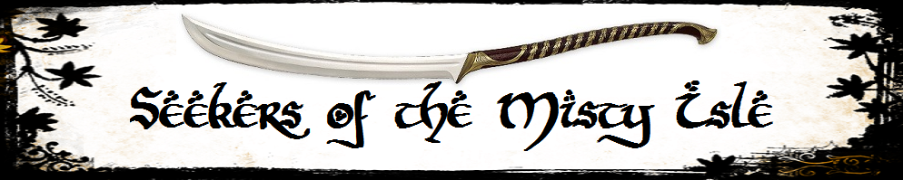 Seekers of the misty isle banner