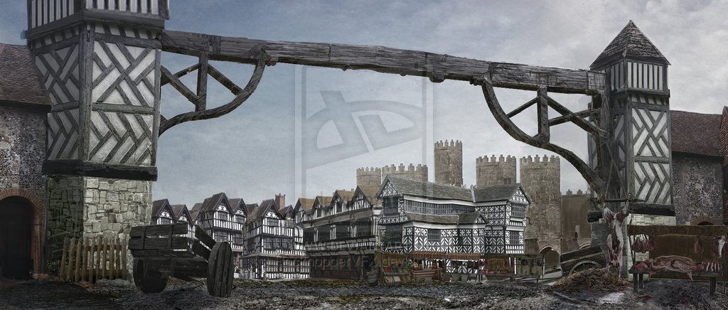 City gate  tudor period by rockhoppervfx d4d0iol
