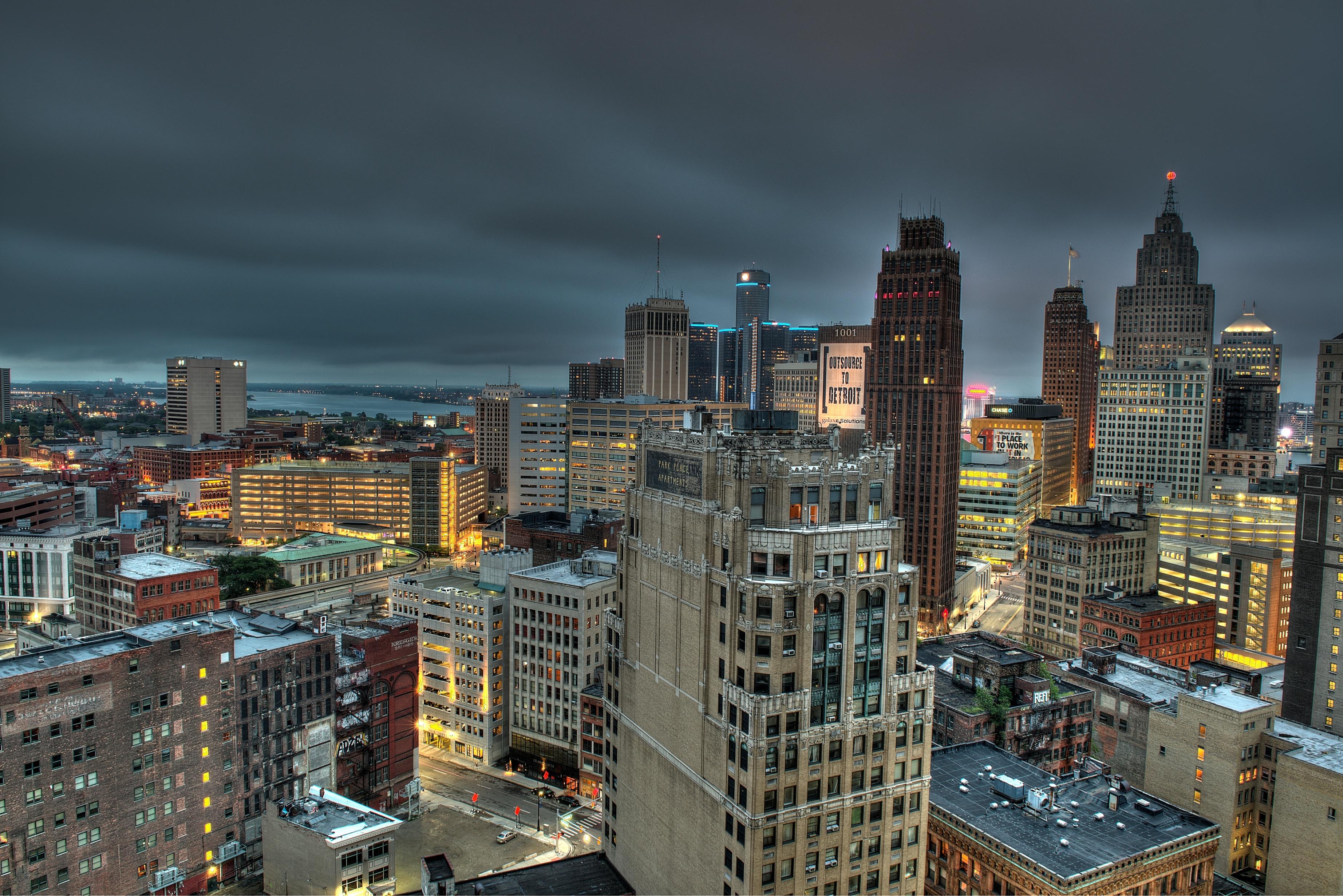 Detroit skyline 2
