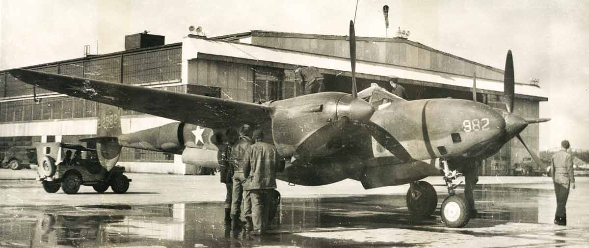 Hangar banner 1943