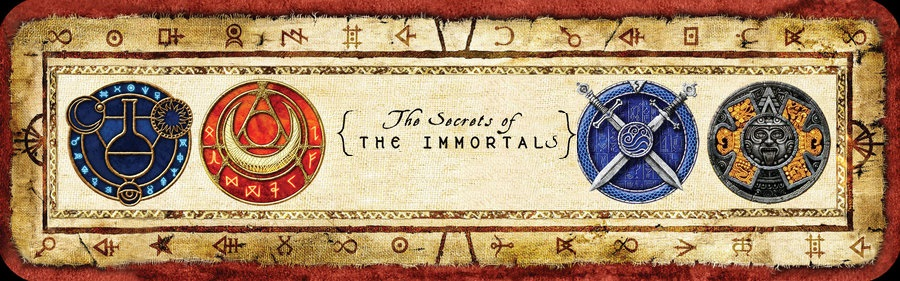 Secrets of the immortals