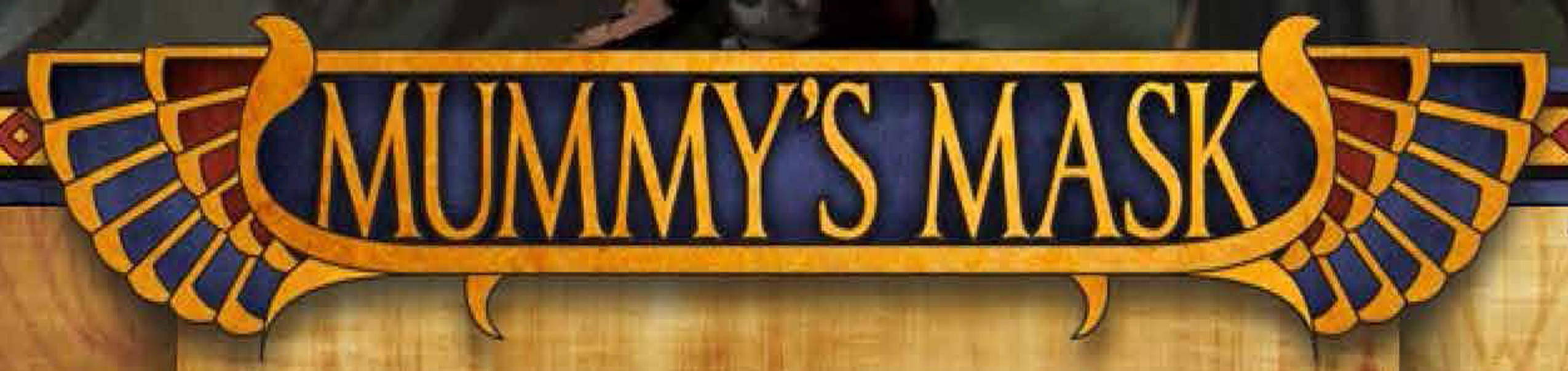 Mummy s mask title
