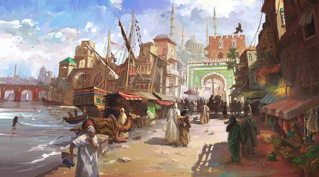 medieval_fantasy_port_by_lotharzhou-d7yzs5y.jpg