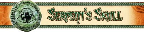 Serpent s skull banner