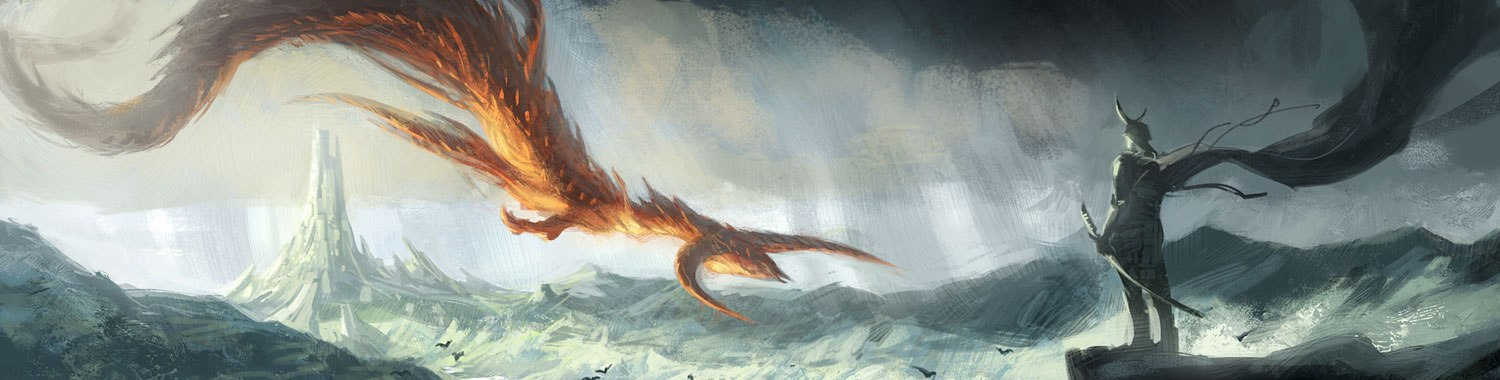 Landscape dragon