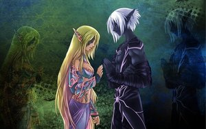 The elf and the drow by faye  faye